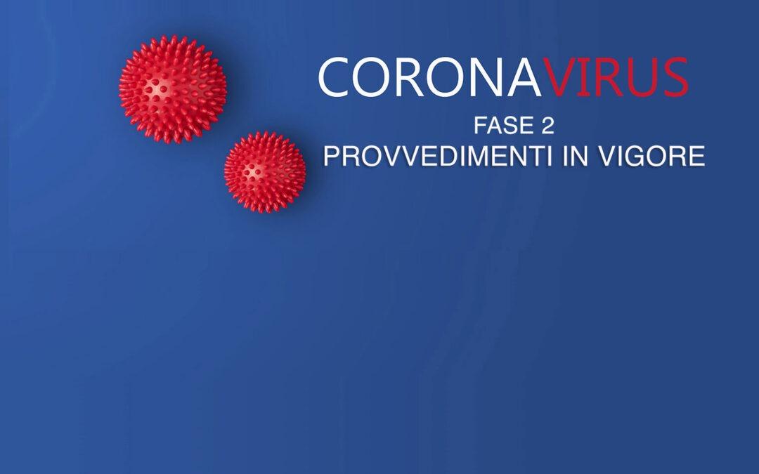 Emergenza da Covid 19-coronavirus: misure organizzative in applicazione del DPCM del 17 maggio 2020 e precedenti. Istruzioni operative