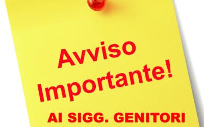 CONVOCAZIONE DEI GENITORI DEGLI STUDENTI ISCRITTI ALLE FUTURE CLASSI PRIME SCUOLA PRIMARIA A.S. 2020/2021